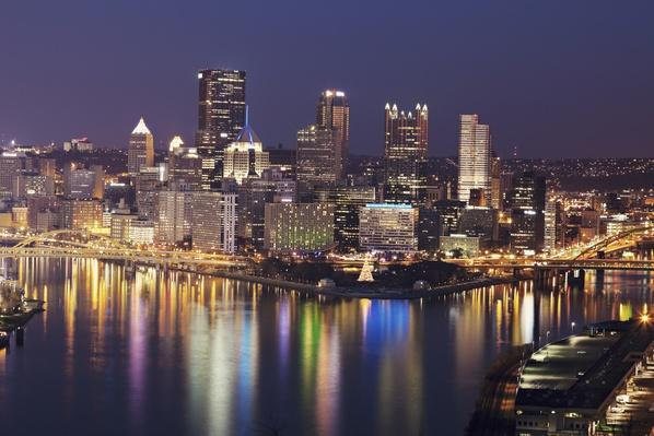 USA, Pennsylvania, Pittsburgh, Cityscape | Cityscapes | Geography 14.1
