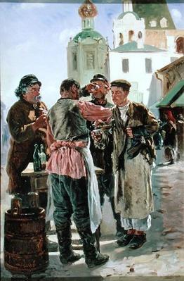 Kvass Seller, 1879
