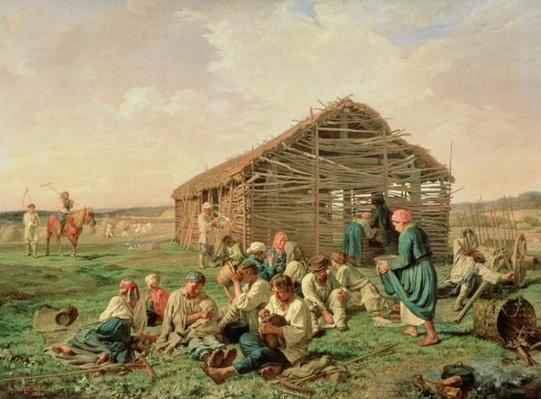 Rest during Haying, 1861