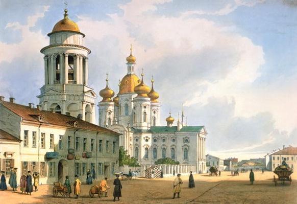 The Virgin of Vladimir Church in St. Petersburg, c.1840