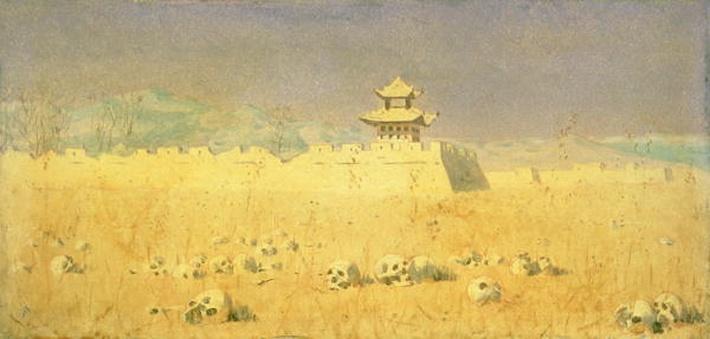 Ruins in Chuguchak, 1869