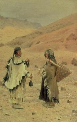 West Tibetans, 1875