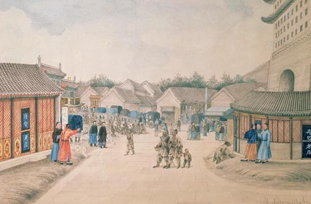 Tsyan-Minh Bridge, from Chinese Sketches, 1804-06