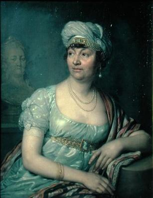 Portrait of Germaine de Stael