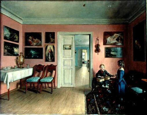 In the Artist's Room, 1855