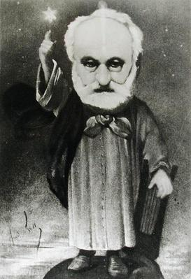 Caricature of Victor Hugo