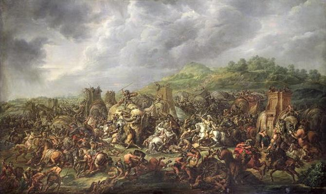 The Defeat of Porus by Alexander the Great