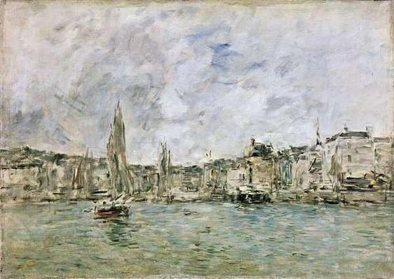 The Port at Honfleur, 1896