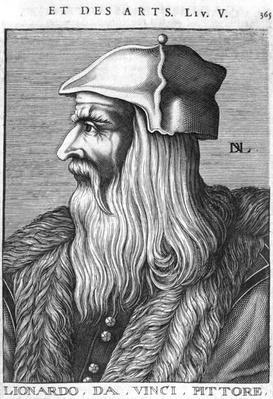 Portrait of Leonardo da Vinci