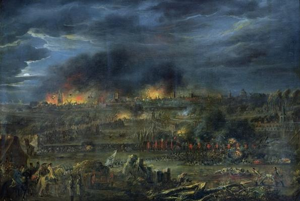 The Bombardment of Lille in 1792