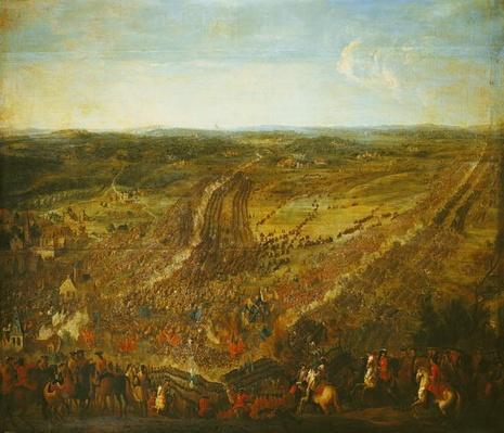 Battle of Fleurus, 1st July 1690