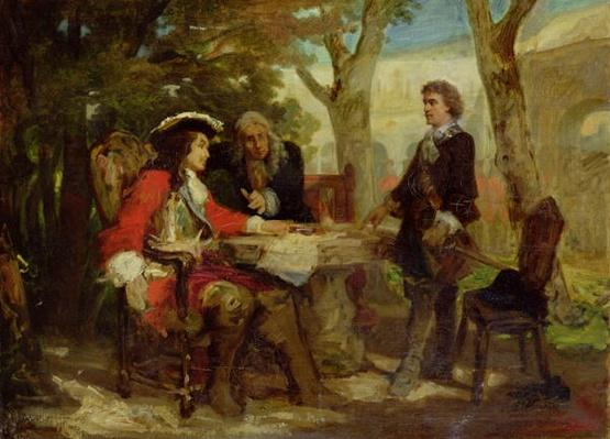 Meeting between Jean Cavalier