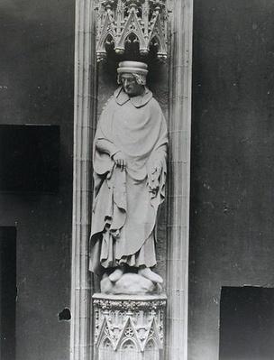Copy of a statue of Jean Bureau, Sire de la Riviere
