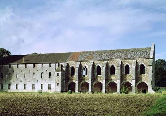 Exterior view of the Cistercian Abbey