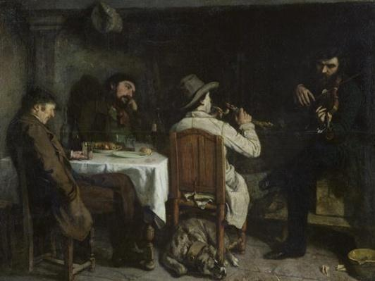 After Dinner at Ornans, 1848