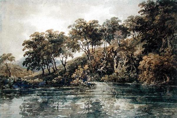 Trees and Ponds near Bromley, Kent, c.1798