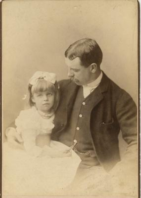 Eleanor with Her Father, Elliott Roosevelt, 1889 | Ken Burns: The Roosevelts