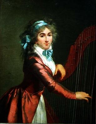 Portrait of a Young Harpist