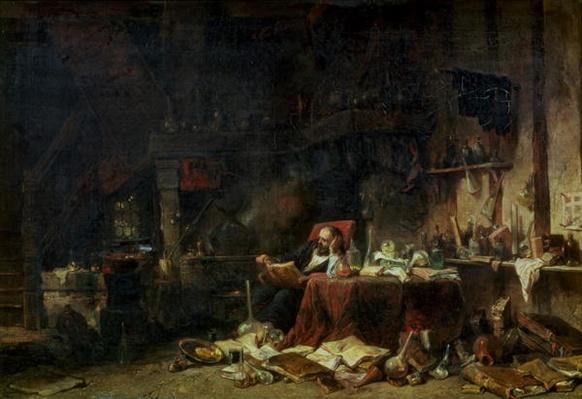 Interior of an Alchemist's Study