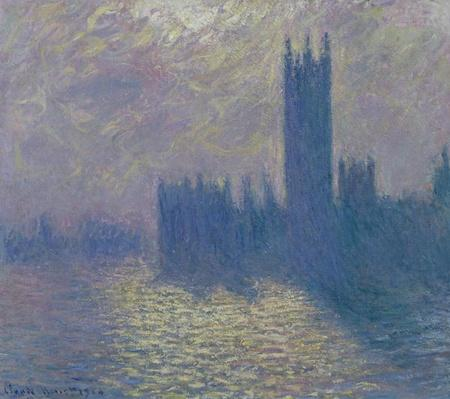 The Houses of Parliament, Stormy Sky, 1904