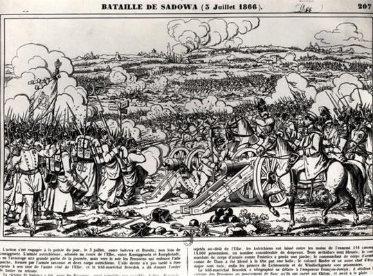 The Battle of Sadowa, 3rd July 1866
