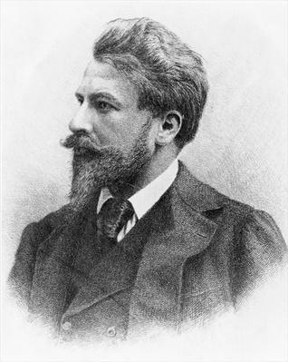 Portrait of Arthur Schnitzler