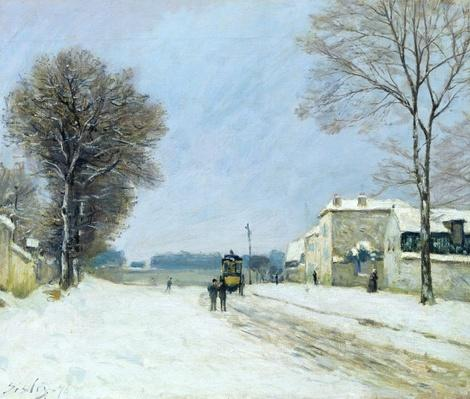 Winter, Snow Effect, 1876