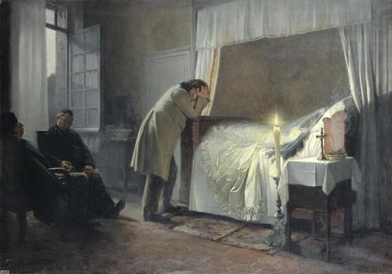 The Death Bed of Madame Bovary, before 1889