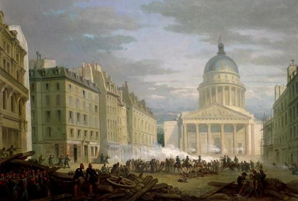 Siege of the Pantheon, 24th June 1848