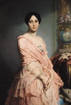 Portrait of Madame F, 1850-51