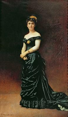 Portrait of Madame Bishoffsheim, 1877