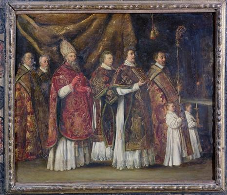 The Pontifical Mass or, The Procession