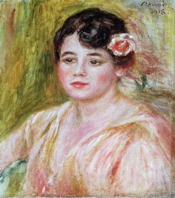 Portrait of Adele Besson, 1918