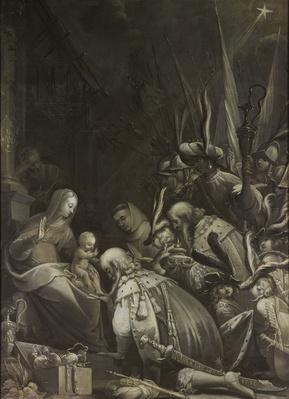 Adoration of the Magi, 1636