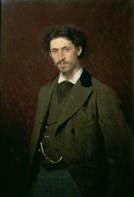 Portrait of Ilya Efimovich Repin, 1876