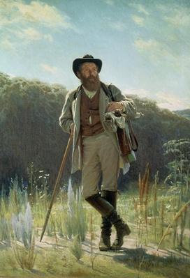 Portrait of Ivan Ivanovich Shishkin