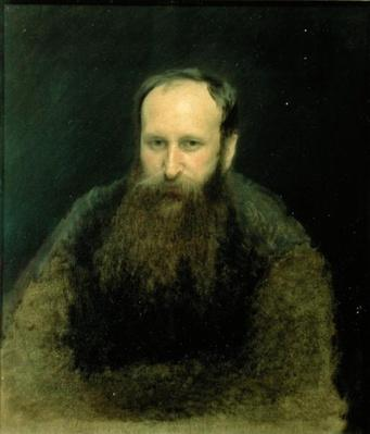 Portrait of Vasili Vasilievich Vereshchagin, 1883