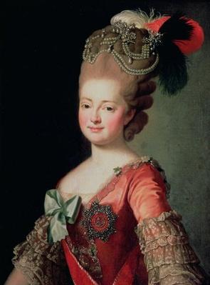 Portrait of Maria Fyodorovna