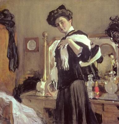 Portrait of Henrietta Girshmann