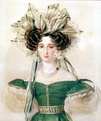 Portrait of Princess Elizabeth Vorontsova