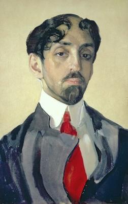 Portrait of Mikhail Kuzmin