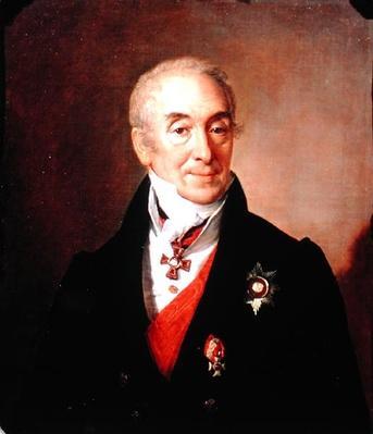 Portrait of S. Kushnikov, 1828