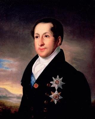 Portrait of Prince Sergej Golitsyn