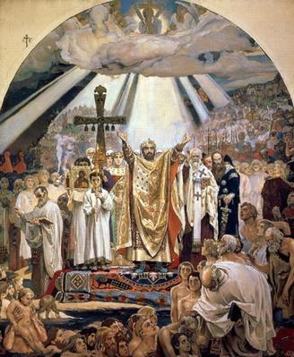 Baptism of Rus, 1885-96
