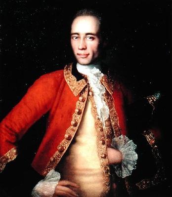 Portrait of Matvey Begichev, 1757