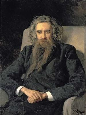 Portrait of Vladimir Sergeyevich Solovyov