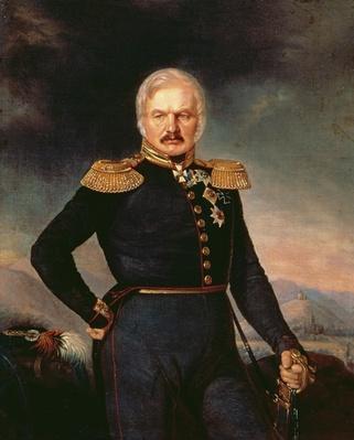Portrait of General Alexei Ermolov