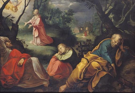 Christ in the Garden of Olives, 1625