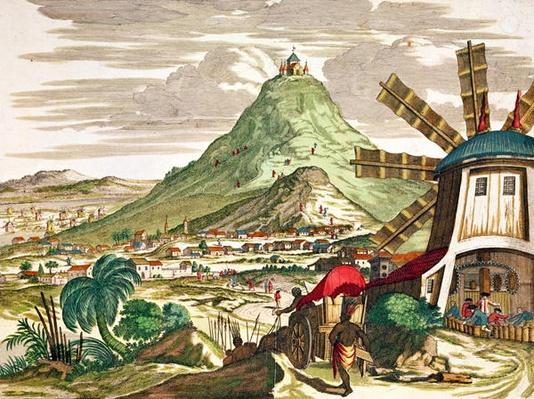 View of Potosi in Bolivia