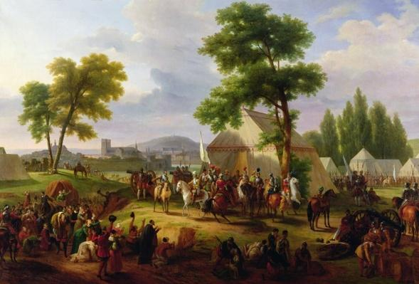 Siege of Paris by Henri IV